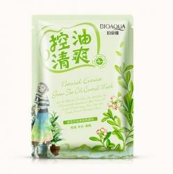 Bioaqua Natural Extract - Маска освежающая с маслом чайного дерева, 30 г