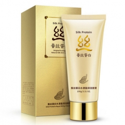 Bioaqua Silk Protein - Пенка для умывания с протеинами шелка, 100 мл