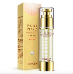 Bioaqua Pure Pearls - Сыворотка омолаживающая с жемчужной пудрой, 60 г