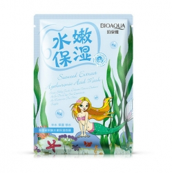 Bioaqua Natural Extract - Маска омолаживающая с морскими водорослями, 30 г