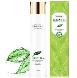 Deoproce Premium Green Tea Total Solution Emulsion - Эмульсия для лица увлажняющая, 260 мл
