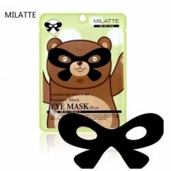 Milatte Fashiony Black Eye Mask Bear - Маска от морщин вокруг глаз, 10 мл