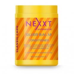 Nexxt Professional Classic Care Silver Balm Conditioner - Бальзам-кондиционер серебристый с антижелтым эффектом, 1000 мл
