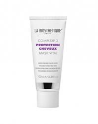 La Biosthetique Power Уход Complexe 3 Mask Vital - Витализирующая маска с мощным молекулярным комплексом защиты волос, 100 мл