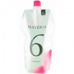 Lebel Materia Oxy 6% - Оксидант для смешивания с краской Materia 1000мл