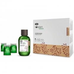 Lisap Milano Keraplant Nature Anti-Hair Loss - Набор против выпадения волос (шампунь 250 мл, лосьон 12*8 мл)