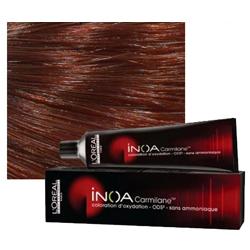 L'Oreal Professionnel Inoa - Краска для волос, Кармилан 6.64 60 мл