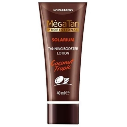 MegaTan Coconut Tropic Tanning booster lotion - Лосьон для загара, 40 мл