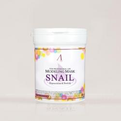 Anskin Snail Modeling Mask - Маска альгинатная с муцином улитики (банка), 240 гр