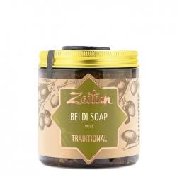 Zeitun Beldi Soap Olive Traditional - Марокканское бельди с оливой и эвкалиптом, 480г