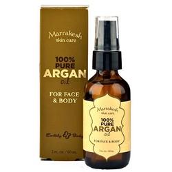 Marrakesh Pure Argan Oil - Чистое масло арганы для лица, тела и волос, 60 мл