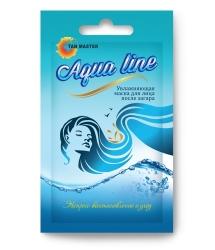 Tan Master Aqua line - Увлажняющая маска для лица после загара, 8мл