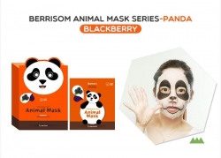 Berrisom Animal Mask Panda - Маска для лица с экстрактом ежевики, Панда