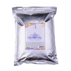 Anskin Charcoal Modeling Mask - Маска альгинатная для жирной кожи с расширенными порами, 1000 мл
