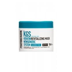 Protokeratin Revitalizing mask for sensitive scalp - Маска-бальзам для ухода за волосами и проблемной кожей головы, 250 мл