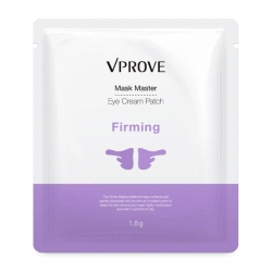 Vprove Mask Master Eye Cream Patch Firming - Тканевая маска-патч для глаз и щёк, 2 мл