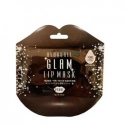 BeauuGreen Hydrogel Glam Lip Mask - Pearl - Гидрогелевая маска для губ с экстрактом жемчуга, 3гр
