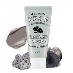 A'Pieu Fresh Mate Peat Mask - Маска для лица с вулканическим пеплом 50 мл