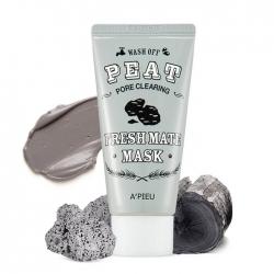 A'Pieu Fresh Mate Peat Mask - Маска для лица с вулканическим пеплом 50 мл
