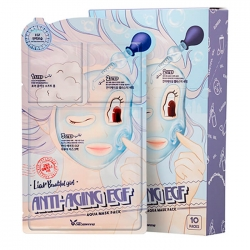 Elizavecca 3-Step Anti-Aging EGF Aqua Mask Sheet - тканевая Маска для лица Трёхступенчатая омолаживающая, 25 мл/2 мл/2 мл