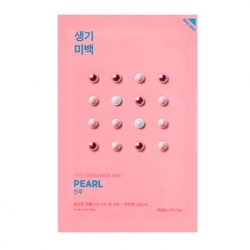Holika Holika Pure Essence Mask Sheet Pearl -  Осветляющая тканевая маска, жемчуг, 20 мл