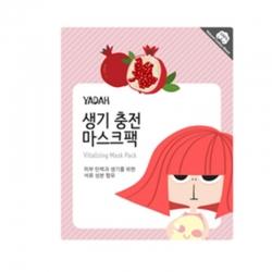 Yadah Vitalizing Mask Pack - Маска для лица энергетическая на тканевой основе, 25 г
