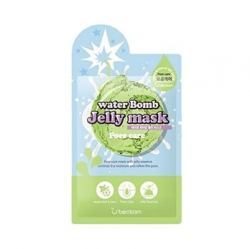 Berrisom Water Bomb Jelly Mask Pore Care - Маска для лица с желе сужающая поры, 33 мл