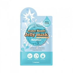 Berrisom Water Bomb Jelly Mask Moisture - Маска для лица с желе увлажняющая, 33 мл