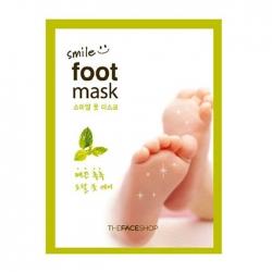 The Face Shop Smile Foot Mask - Маска для ног смягчающая, 18 мл