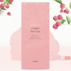 A'pieu Raspberry Vinegar Hair Cap - Маска для волос Восстанавливающая с малиновым уксусом, 35мл