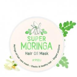 A'Pieu Super Moringa Hair Oil Mask - Маска для волос Питательная с экстрактом масла моринги 210 мл