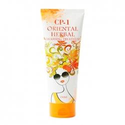 Esthetic House CP-1 Oriental Herbal Cleansing Treatment - Маска для волос с экстрактами восточных трав, 250 мл