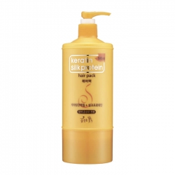 Flor de Man with Flowers Keratin Silkprotein Hair Pack - Маска для волос с кератинами и протеинами, 500 мл