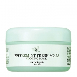 Skinfood Peppermint Fresh Scalp Cooling Mask - Маска для волос освежающая, 200 мл