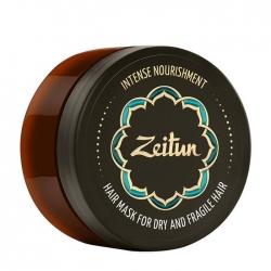 Zeitun Intense Nourishment Hair Mask - Маска для интенсивного питания волос с маслом ши, 200мл