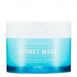 A'Pieu Good Morning Sorbet Mask - Маска-сорбет для лица Увлажняющая, 105 мл