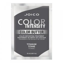 Joico Color Butter Titanium - Маска тонирующая с интенсивным серым пигментом (саше), 20 мл