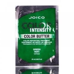 Joico Color Butter Green - Маска тонирующая с интенсивным зеленым пигментом (саше), 20 мл