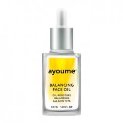 Ayoume Balancing Face Oil With Sunflower - Масло для лица Балансирующее с экстрактом подсолнуха, 30 мл
