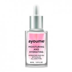 Ayoume Moisturizing & Hydrating Face Oil With Olive - Масло для лица Увлажняющее с экстрактом оливы, 30 мл