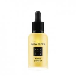 Beautific Wow Drops Makeup Primer Oil - Масло-праймер под макияж с маслами чиа, конопли и асаи, 30 мл