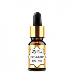 Zeitun Lashes & Brows Beauty Oil - Масло для ресниц и бровей 10мл