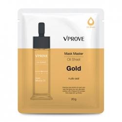 Vprove Mask Master Oil Sheet Gold - Тканевая маска на масляной основе Тонизирующая, 20 мл