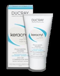 Ducray Keracnyl - Керакнил Маска тройного действия, 40 мл