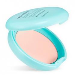 The Face Shop Oil Clear Sheer Pink Mattifying Powder - Компактная матирующая пудра с розовым оттенком SPF30 PA++, 9 мл
