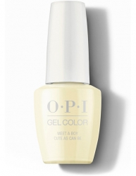 OPI Grease collection Gel Color - Гель-Лак для ногтей Meet a Boy Cute As Can Be, 15 мл