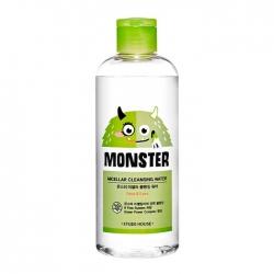 Etude House Monster Micellar Cleansing Water - Мицелярная вода с экстрактом алоэ, 300мл