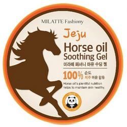 Milatte Y Horse Soothinng Gel - Гель для тела с лошадиным жиром, 300 мл