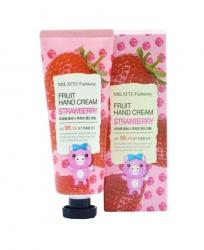 Milatte Fashiony Fruit Hand Cream Strawberry - Крем для рук с экстрактом клубники, 60 мл