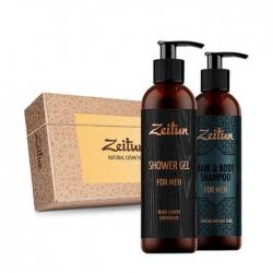 Zeitun For Men - Мини набор подарочный (шампунь+гель для душа)